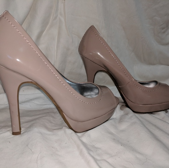 Candie's - CANDIES Nude Heels from Jessica's closet on Poshmark